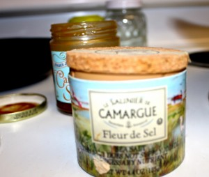 Camargue Fleur De Sel 1 teaspoon added to carmel sauce.