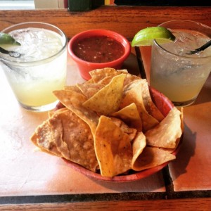 Margaritas, Chips and Salsa